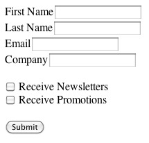 bad sign up form